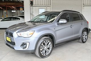 2016 Mitsubishi ASX XB MY15.5 XLS Titanium 6 Speed Sports Automatic Wagon