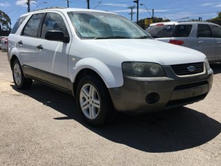 2004 Ford Territory SX TX White 4 Speed Sports Automatic Wagon.