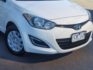 2014 Hyundai i20 Active White 4 Speed Automatic Liftback.