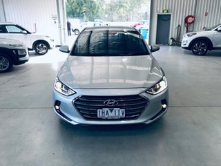 2016 Hyundai Elantra AD MY17 Elite Silver 6 Speed Sports Automatic Sedan.
