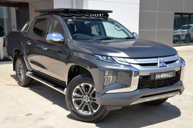 Used Mitsubishi Triton MR MY19 GLS Double Cab Tuggerah, 2019 Mitsubishi Triton MR MY19 GLS Double Cab Grey 6 Speed Sports Automatic Utility