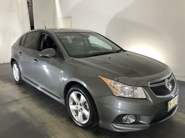 Used Holden Cruze JH Series II MY12 SRi-V Maryville, 2012 Holden Cruze JH Series II MY12 SRi-V Grey 6 Speed Sports Automatic Hatchback