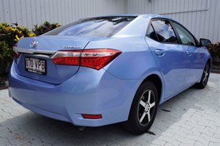 2015 Toyota Corolla ZRE172R Ascent S-CVT Blue 7 Speed Constant Variable Sedan