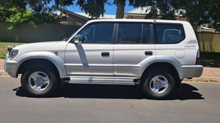 2001 Toyota Landcruiser Prado VZJ95R VX (4x4) White 4 Speed Automatic 4x4 Wagon.