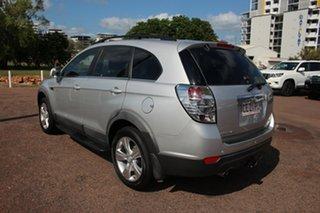 2012 Holden Captiva CG Series II MY12 7 AWD CX Premium Silver 6 Speed Automatic Wagon