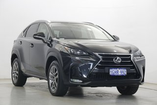 2017 Lexus NX AGZ10R NX200t 2WD Luxury Black 6 Speed Sports Automatic Wagon