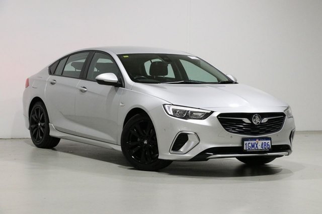 Used Holden Commodore ZB RS Bentley, 2018 Holden Commodore ZB RS Silver 9 Speed Automatic Liftback