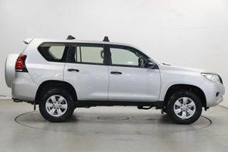 2018 Toyota Landcruiser Prado GDJ150R GX Silver 6 Speed Sports Automatic Wagon