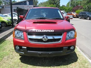 2012 Holden Colorado RC MY11 LX (4x2) Red 5 Speed Manual Crew Cab Pickup.