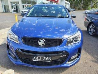 2017 Holden Ute VF II MY17 SS V Ute Redline Blue 6 Speed Sports Automatic Utility.