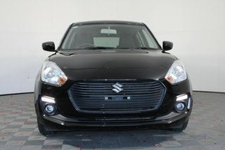 2018 Suzuki Swift AZ GL Navigator Black 1 Speed Constant Variable Hatchback.