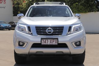 2017 Nissan Navara D23 S3 ST-X Brilliant Silver 7 Speed Sports Automatic Utility.