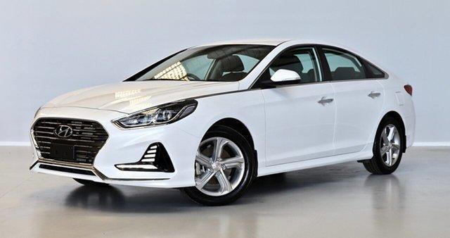 Used Hyundai Sonata LF4 MY18 Active Thomastown, 2017 Hyundai Sonata LF4 MY18 Active White 6 Speed Sports Automatic Sedan