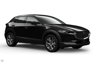 2020 Mazda CX-30 DM2W7A G20 SKYACTIV-Drive Touring Black 6 Speed Sports Automatic Wagon.