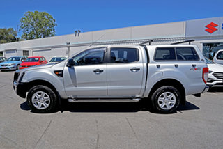 2012 Ford Ranger PX XL Highlight Silver 6 Speed Sports Automatic Utility