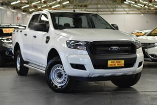 2016 Ford Ranger PX MkII XL Hi-Rider White 6 Speed Sports Automatic Utility.