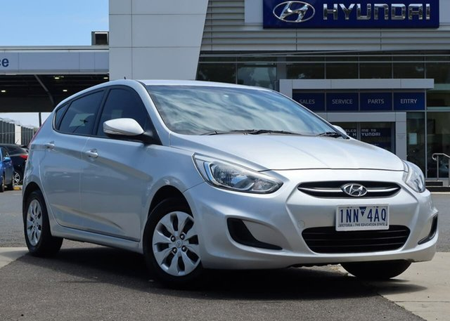 Used Hyundai Accent RB2 MY15 Active South Melbourne, 2015 Hyundai Accent RB2 MY15 Active 4 Speed Sports Automatic Hatchback