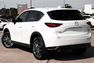 2020 Mazda CX-5 KF4W2A Akera SKYACTIV-Drive i-ACTIV AWD White 6 Speed Sports Automatic Wagon
