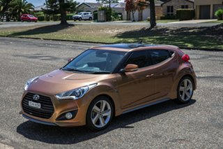 2012 Hyundai Veloster FS2 SR Coupe Turbo Marmalade 6 Speed Manual Hatchback