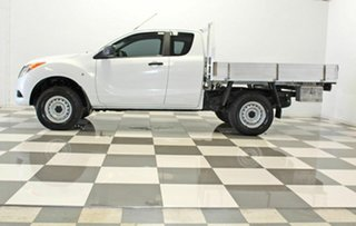 2014 Mazda BT-50 MY13 XT Hi-Rider (4x2) White 6 Speed Manual Freestyle Cab Chassis