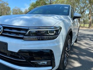 2020 Volkswagen Tiguan 5N MY20 162TSI DSG 4MOTION Highline Pure White 7 Speed.