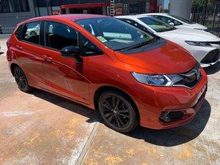 2020 Honda Jazz GF MY21 Limited Edition Phoenix Orange 1 Speed Constant Variable Hatchback