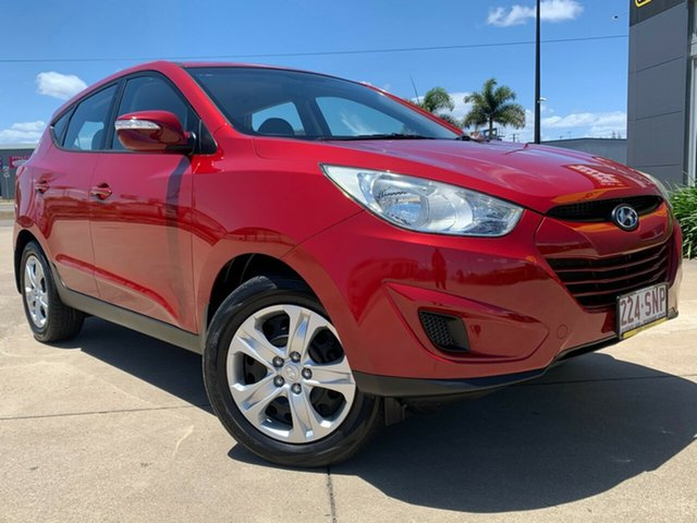 Used Hyundai ix35 LM MY12 Active Townsville, 2012 Hyundai ix35 LM MY12 Active Red 5 Speed Manual Wagon