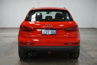 2015 Audi Q3 8U MY16 TFSI S Tronic Red 6 Speed Sports Automatic Dual Clutch Wagon