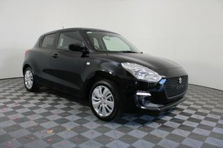 2018 Suzuki Swift AZ GL Navigator Black 1 Speed Constant Variable Hatchback
