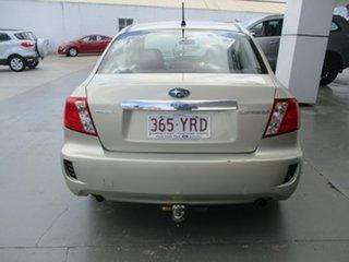 2010 Subaru Impreza MY10 R (AWD) Gold 4 Speed Automatic Sedan.