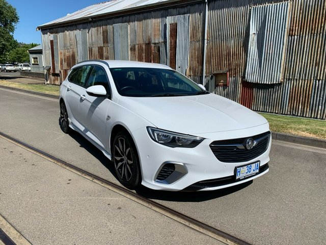 Used Holden Commodore ZB MY18 RS Sportwagon Launceston, 2018 Holden Commodore ZB MY18 RS Sportwagon White 9 Speed Sports Automatic Wagon