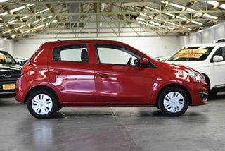2018 Mitsubishi Mirage LA MY18 ES Red 5 Speed Manual Hatchback