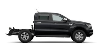 2021 Ford Ranger PX MkIII 2021.75MY XLT Double Cab Swl 6 Speed Sports Automatic Double Cab Chassis