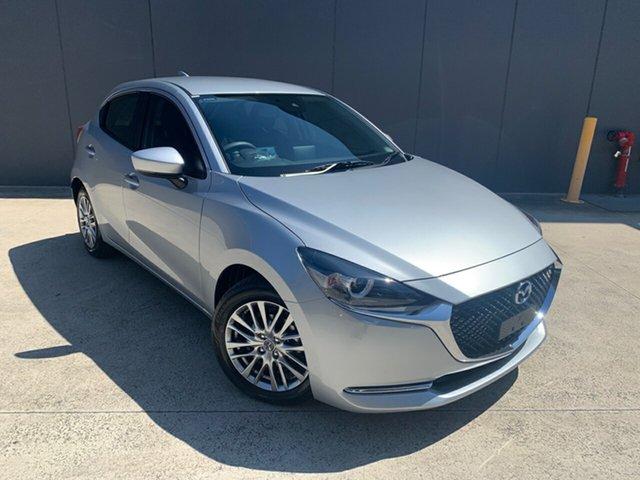 New Mazda 2 DJ2HAA G15 SKYACTIV-Drive Evolve Alexandria, 2020 Mazda 2 DJ2HAA G15 SKYACTIV-Drive Evolve Sonic Silver 6 Speed Sports Automatic Hatchback