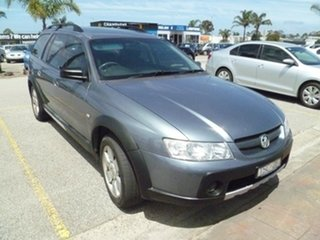 2005 Holden Adventra VZ SX6 Grey 5 Speed Automatic Wagon.