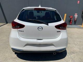 2020 Mazda 2 DJ2HAA 100th Anniversary SKYACTIV-Drive Snowflake White 6 Speed Sports Automatic
