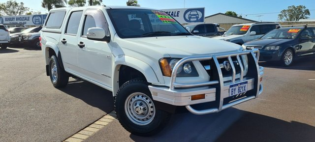 Used Holden Colorado RC MY10 LX Crew Cab 4x2 East Bunbury, 2010 Holden Colorado RC MY10 LX Crew Cab 4x2 White 4 Speed Automatic Utility