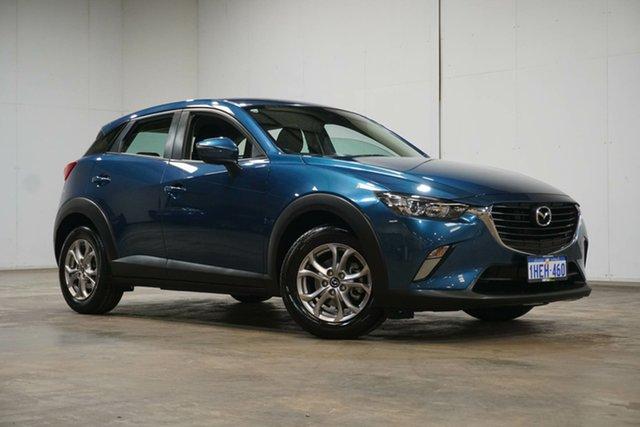 Used Mazda CX-3 DK2W7A Maxx SKYACTIV-Drive Welshpool, 2017 Mazda CX-3 DK2W7A Maxx SKYACTIV-Drive Blue 6 Speed Sports Automatic Wagon