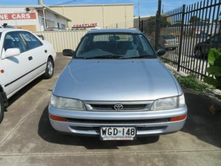 1996 Toyota Corolla AE102R Conquest Silver 4 Speed Automatic Sedan.