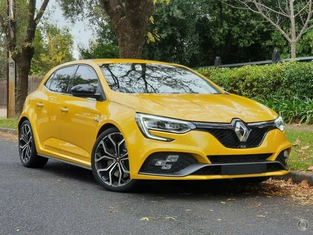 Demo Renault Megane BFB R.S. EDC Sport Nailsworth, 2020 Renault Megane BFB R.S. EDC Sport Liquid Yellow 6 Speed Sports Automatic Dual Clutch Hatchback