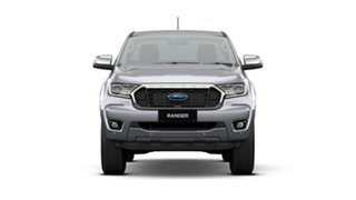 2021 Ford Ranger PX MkIII 2021.25MY XLT Aluminium Silver 6 Speed Sports Automatic Super Cab Pick Up.