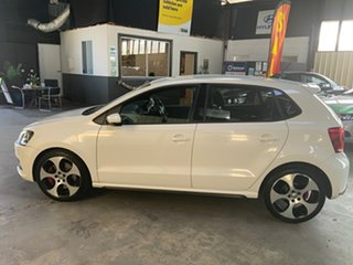 2013 Volkswagen Polo 6R MY13.5 GTi White 7 Speed Auto Direct Shift Hatchback
