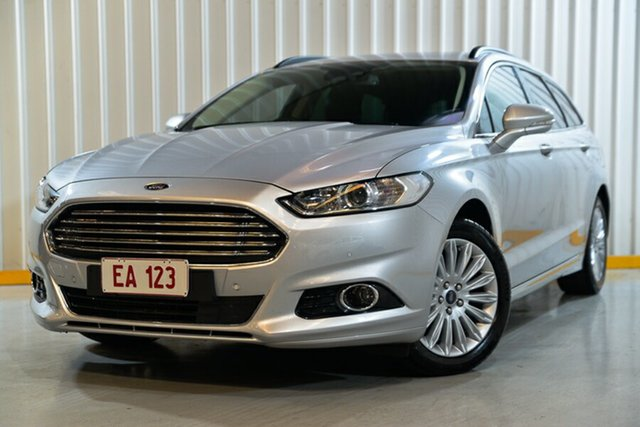 Used Ford Mondeo MD 2018.25MY Trend Hendra, 2017 Ford Mondeo MD 2018.25MY Trend Silver 6 Speed Sports Automatic Dual Clutch Wagon