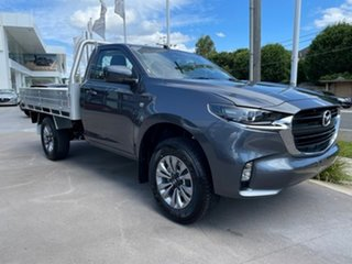 2020 Mazda BT-50 TF XT Grey Manual Cab Chassis.