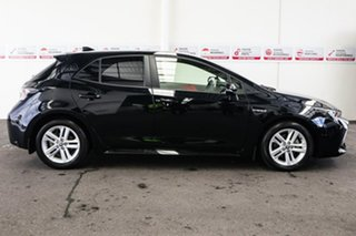 2019 Toyota Corolla ZWE211R SX E-CVT Hybrid Eclipse Black 10 Speed Constant Variable Hatchback