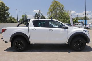 2019 Mazda BT-50 UR0YG1 Boss White 6 Speed Sports Automatic Utility.