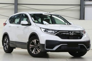 2020 Honda CR-V RW MY21 VTi FWD 7 Platinum White 1 Speed Constant Variable Wagon.