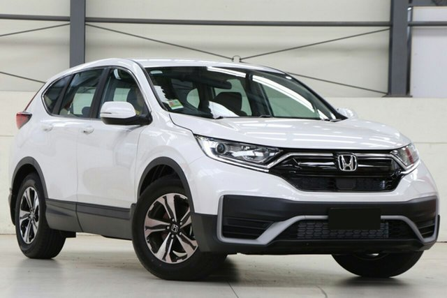 New Honda CR-V RW MY21 VTi FWD 7 Cardiff, 2020 Honda CR-V RW MY21 VTi FWD 7 Platinum White 1 Speed Constant Variable Wagon