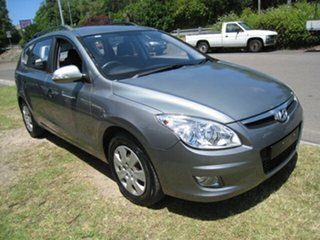2009 Hyundai i30 FD MY09 CW SX 2.0 Grey 4 Speed Automatic Wagon