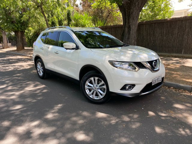 Used Nissan X-Trail T32 ST-L X-tronic 2WD Hawthorn, 2015 Nissan X-Trail T32 ST-L X-tronic 2WD White 7 Speed Constant Variable Wagon